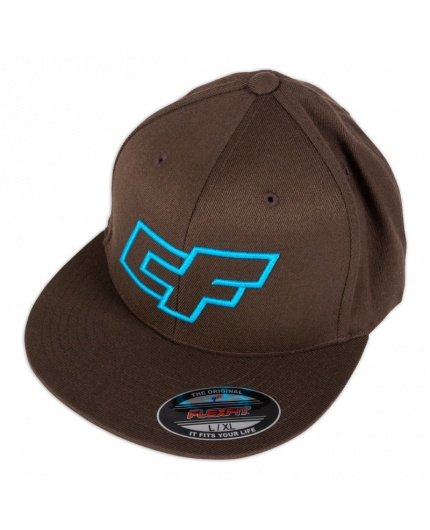 LOGO HAT BROWN